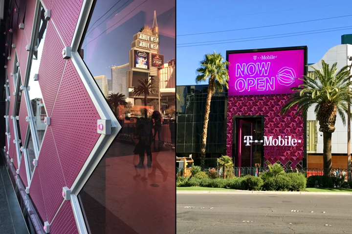 T-Mobile signature store by FITCH, Las Vegas – Nevada