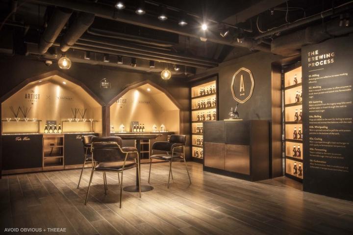 香港he Artist House 啤酒餐厅设计