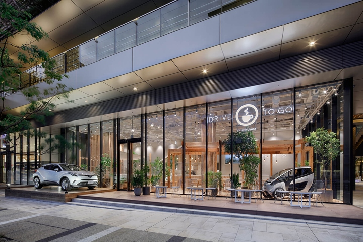 日本丰田Toyota汽车体验店设计