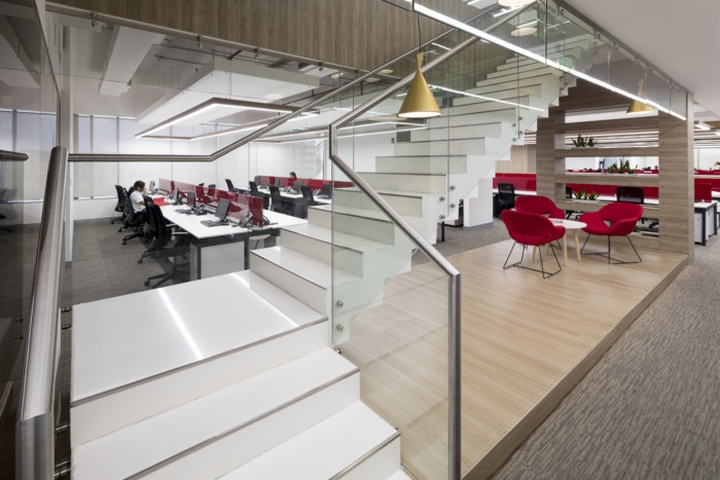 Trenco tropigas offices by aei arquitectura e interiores for Arquitectura design interiores
