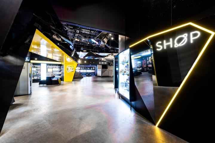 店面设计|英国国家航天中心商店设计