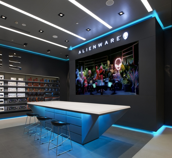 187 Alienware Flagship Store By Gramco Chongqing China