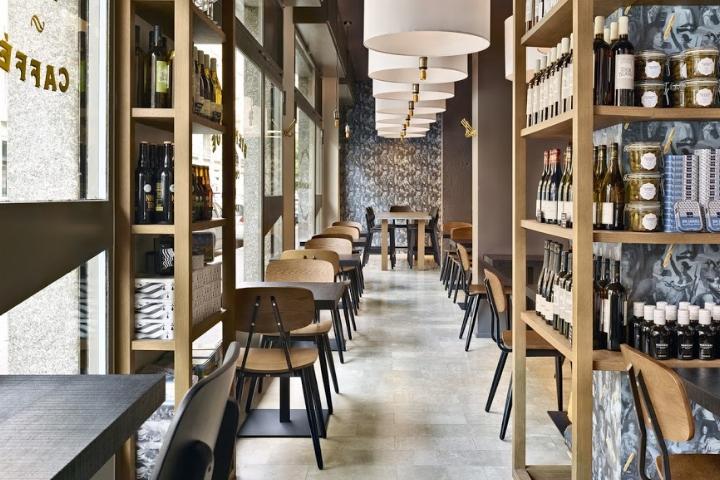 专卖店设计 | 意大利米兰égalité面包店设计
