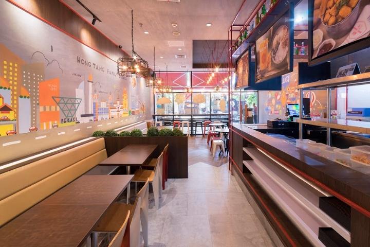 专卖店设计 | 印尼Hong Tang餐饮店设计