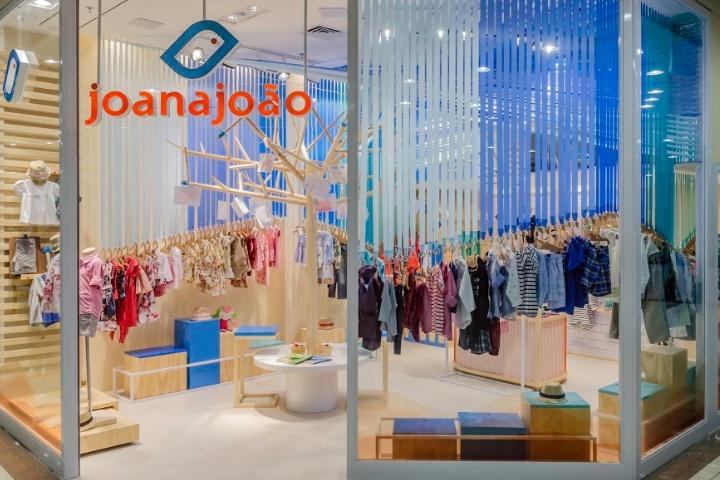 专卖店设计 | 巴西Joana João童装店设计