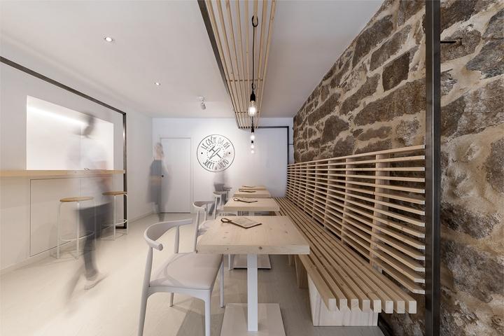 SI设计 | 西班牙Le Crêpe da Pía餐饮店设计