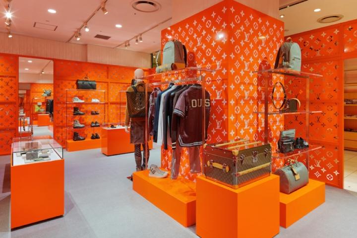 专卖店设计 | 日本Louis Vuitton专卖店设计