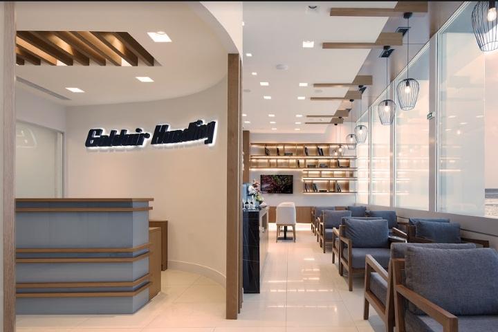 Lounge Of Goldair Handling By Lefteris Tsikandilakis Heraklion