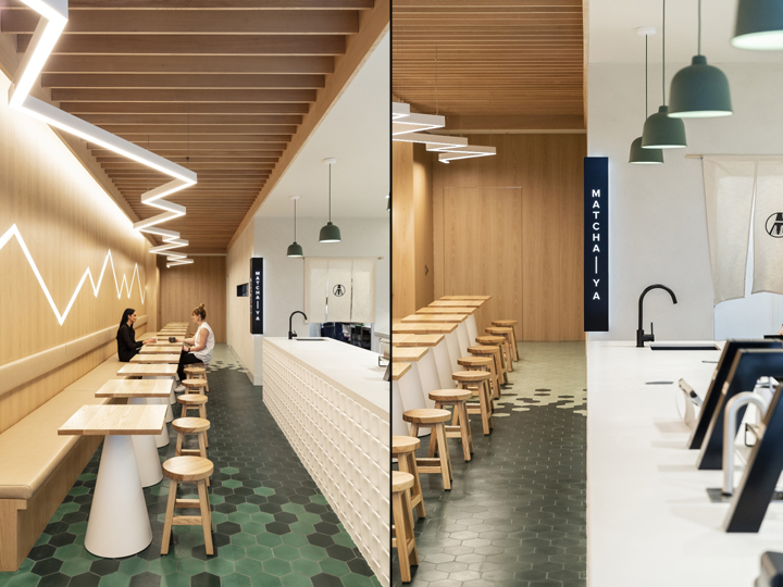 068e6c7b7ecd3 Matcha-Ya Japanese café by McCartney Design