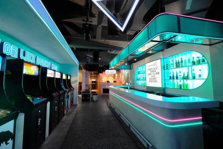 店面设计 | 新加坡Nineteen80酒吧设计