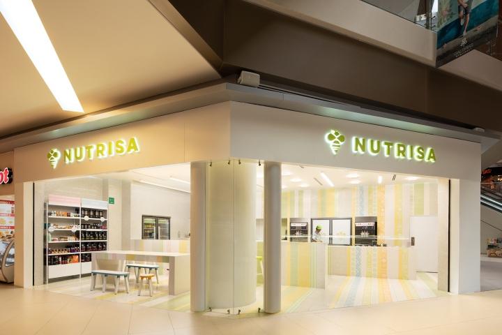店面设计|墨西哥Nutrden冰淇淋店设计