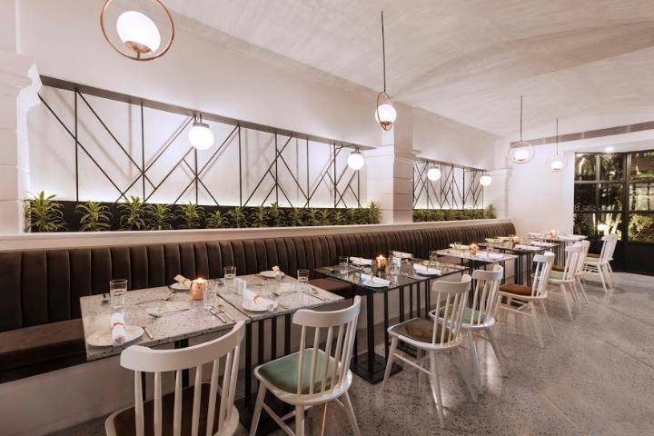 店面设计 | 印度Under the Mango餐饮店设计