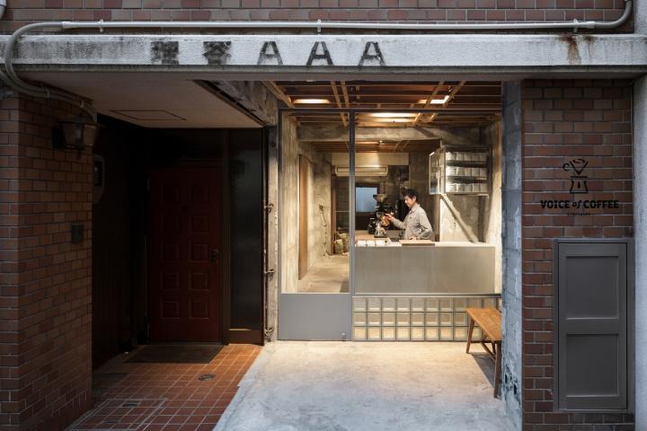 店面设计 | 日本Voice of Coffee咖啡馆设计