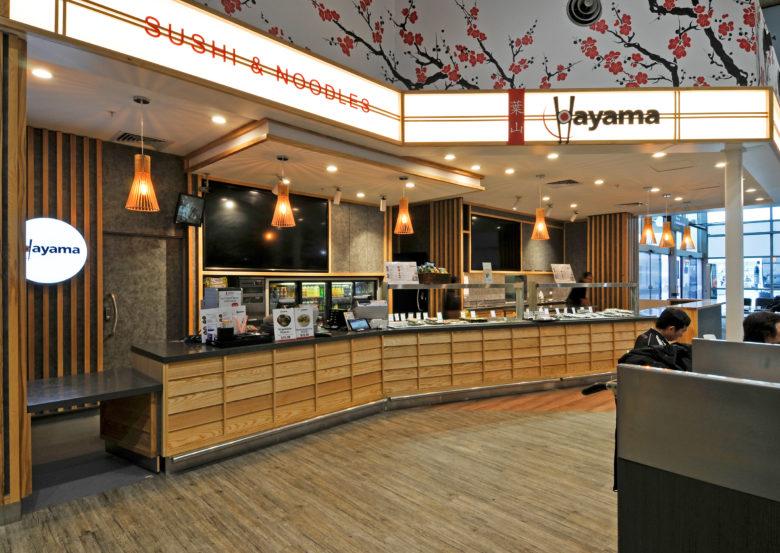 SI设计 | 奥克兰机场Hayama餐饮店设计