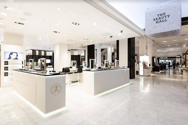 SI设计 | 英国Anastasia化妆品店面设计
