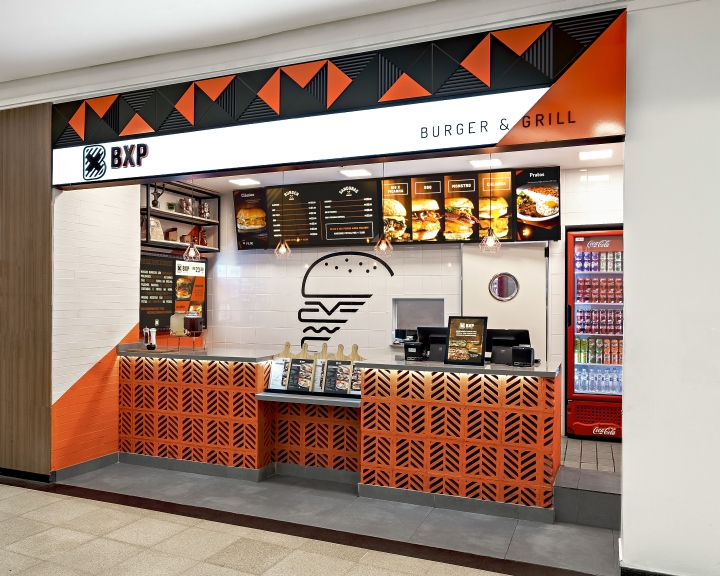 店面设计 | 巴西BXP BURGUER & GRILL小吃店设计