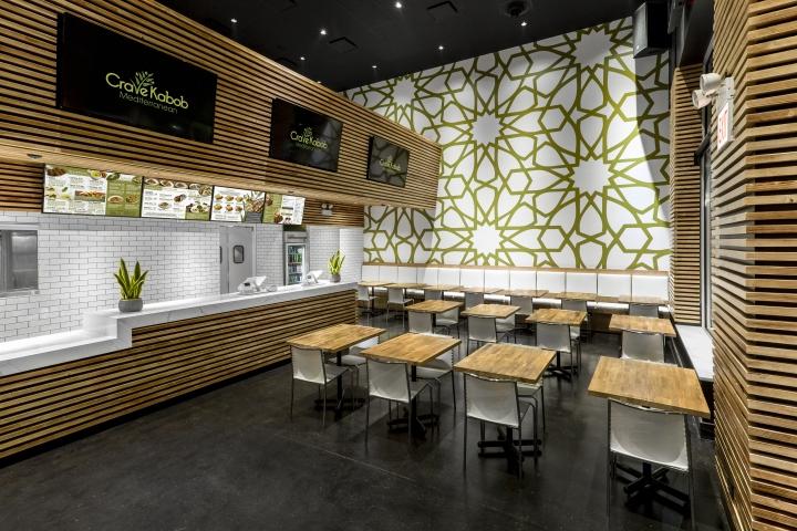 店面设计 | 芝加哥Crave Kabobh餐厅设计