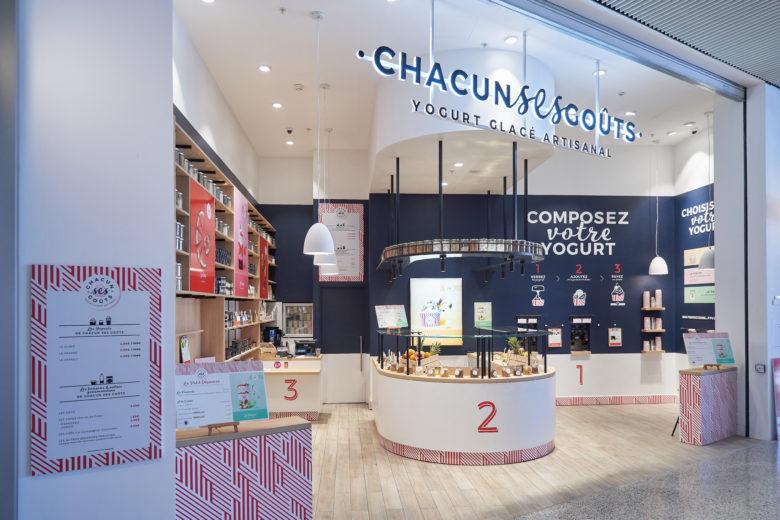 SI设计 | CHACUN SES GOÛTS新零售店设计