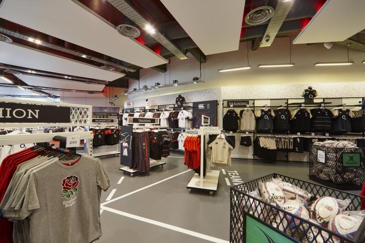 SI设计 | 伦敦England Rugby服装店设计