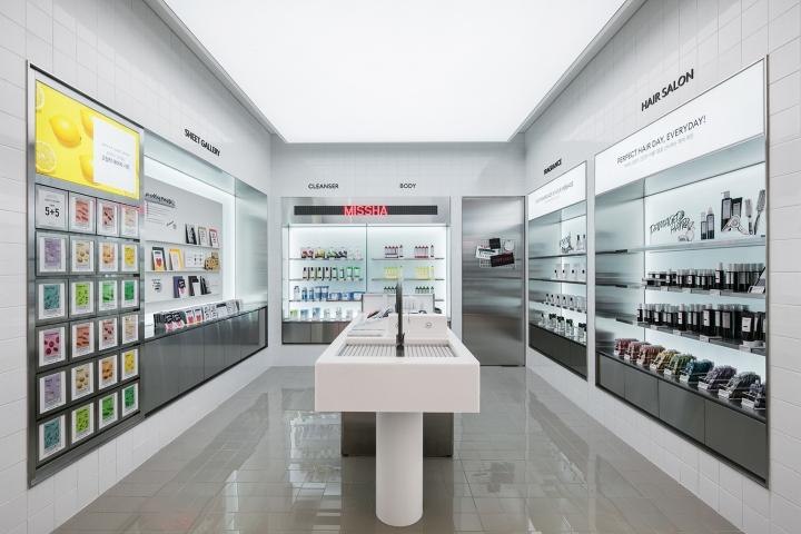 化妆品店设计|首尔Gallery M化妆品概念店设计