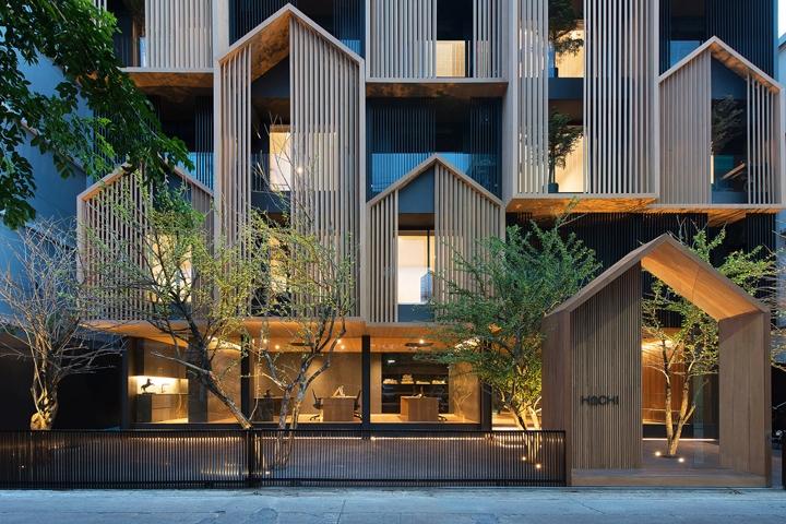 商业空间设计|泰国曼谷HACHI服务公寓设计