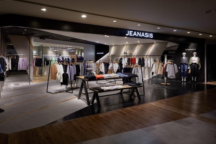 SI设计 | 日本JEANASIS服装店设计