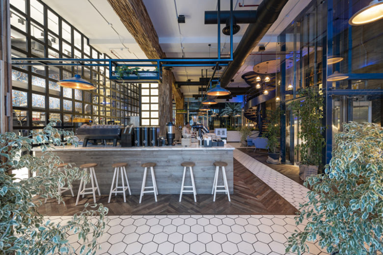 Liqui Design Completes The Interior Design Of Brew92 S Stunning Flagship Coffee Shop And Roastery In Al Khayyat Jeddah