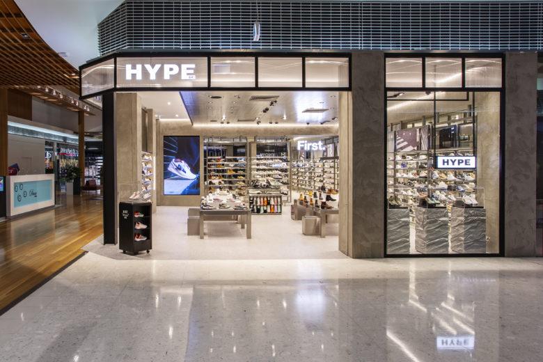 专卖店设计 | 澳大利亚Hype鞋店设计