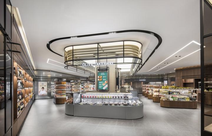 SI设计 | 韩国Olive Market店面设计