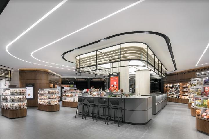 超市设计|首尔Olive Market冷鲜食品超市设计