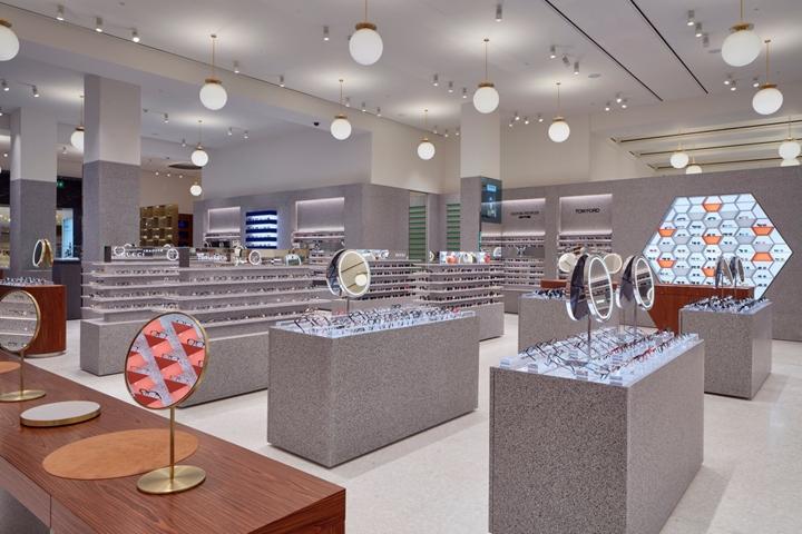专卖店设计 | 英国伦敦Selfridges眼镜店设计