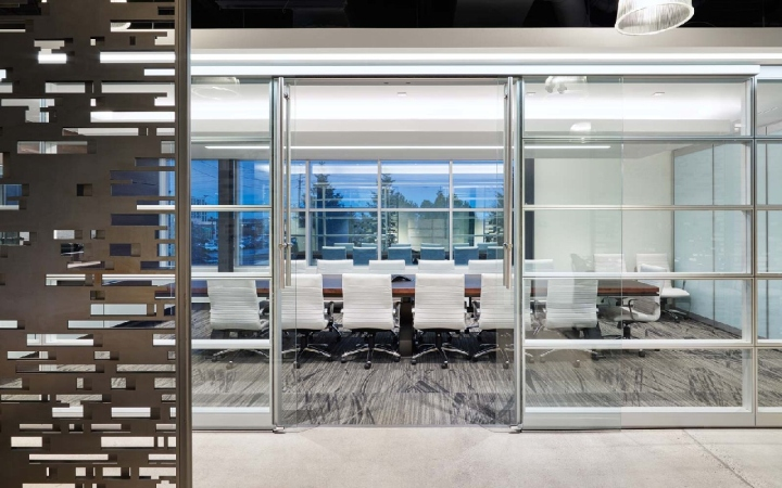 Visual Elements Modular Office By Imt Modular Walls Toronto Canada
