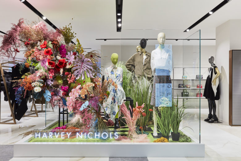 服装店设计|一波清新明亮风,伦敦Harights Nichols精品女装店设计