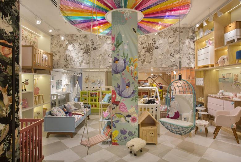 店面设计 |巴西 LZ Mini母婴店设计