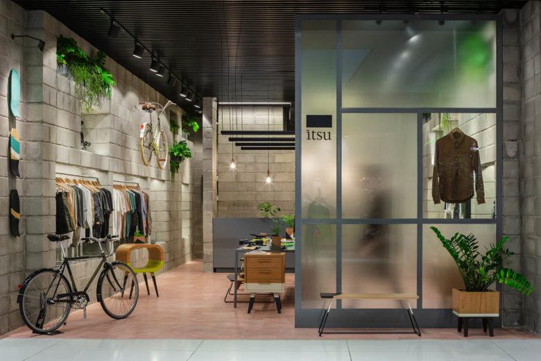 专卖店设计 | 巴西Oficina Itsu商店设计