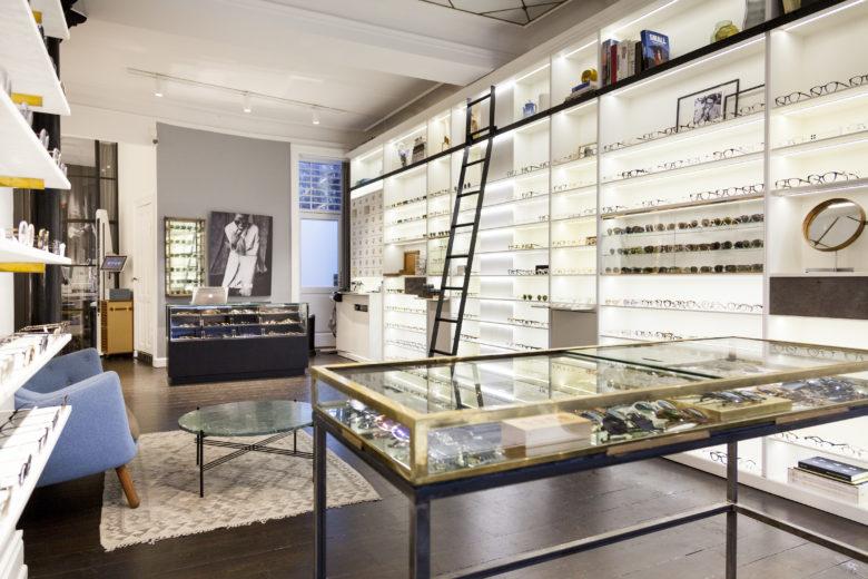 专卖店设计 | 哥本哈根Poul Stig眼镜店设计