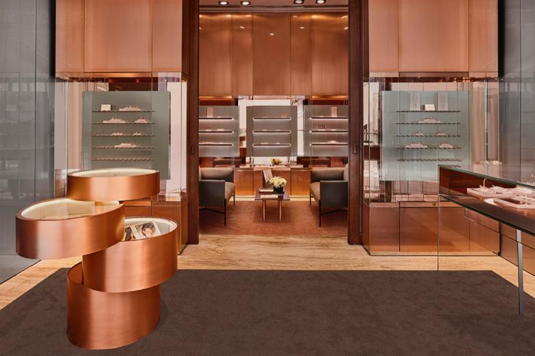 si设计|在迪拜开店豪华是标配,Repossi珠宝店设计