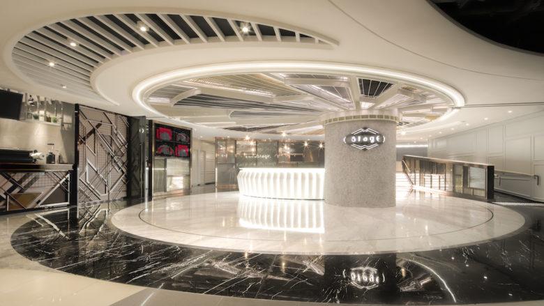 法国装饰艺术与现代风格相结合,香港StagE电影院设计