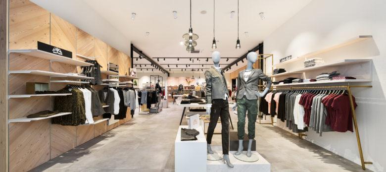 店面设计 |STO CKW ERK时装店设计