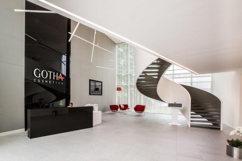空间设计 | GOTHA哥达化妆品办公空间设计