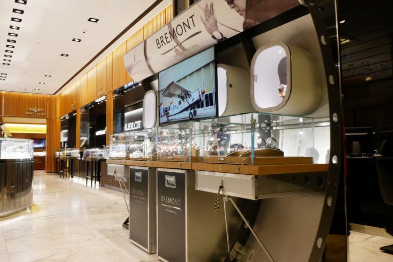 空间设计 | 伦敦Bremont瑞士手表店面设计