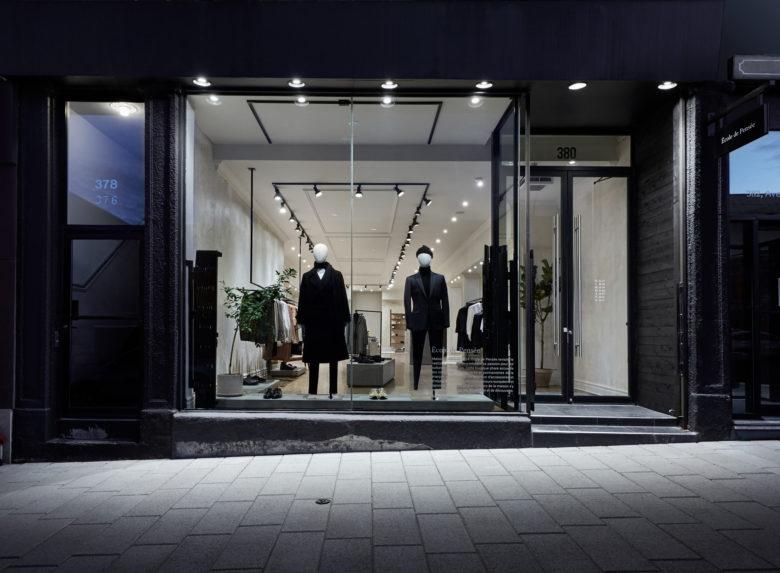 空间设计 | 蒙特利尔École de Pensée旗舰店设计
