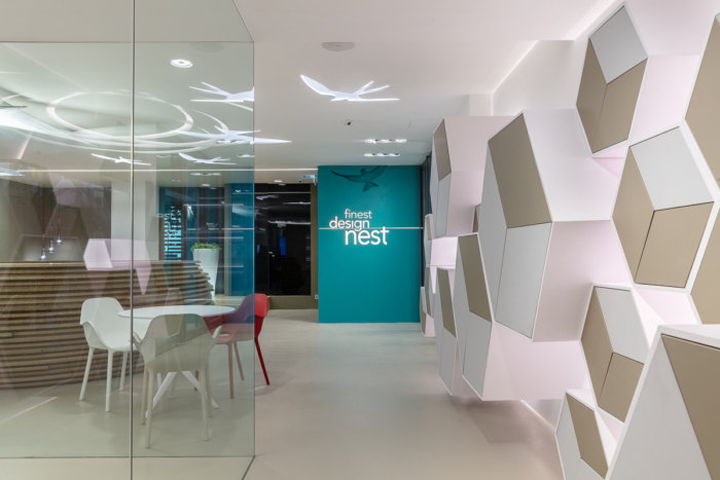 Atelier E Limited With Finest Office Furniture Supplies Have Collaborated To Design The Nest Coworking Located In Hong Kong