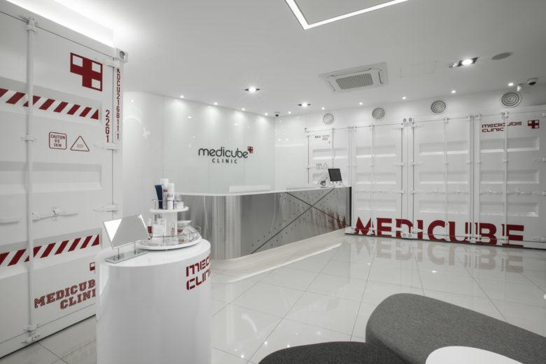 美容院设计|韩国美妆品牌MEDICUBE美容医疗中心设计