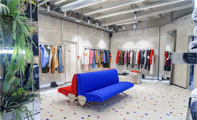 专卖店设计 |MSGM store服装店设计