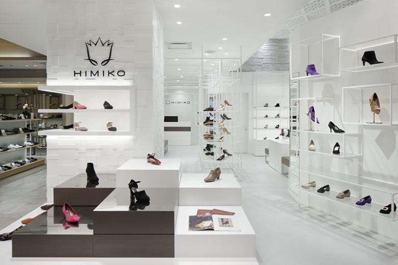 店面设计 |日本东京HIMIKO女鞋店面设计