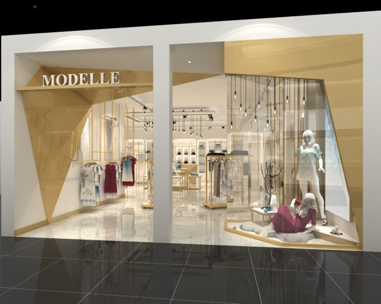 78538a5720f KSL Ladies Clothing fashion shop interior design is newly arrival.