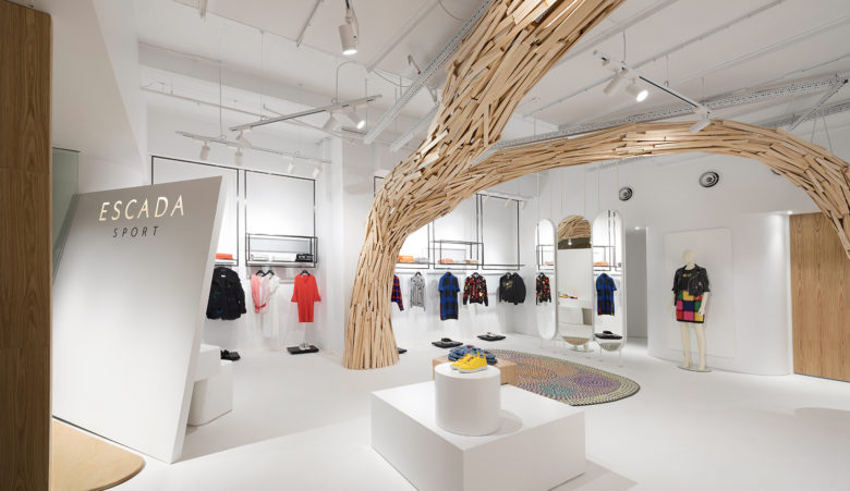 SI设计 | Escada Sport服装店设计