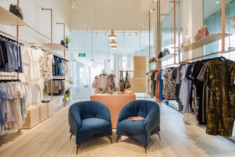 Simple And Elegant Clothing Store