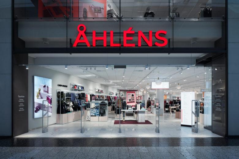 商业空间设计|斯德哥尔摩Åhléns连锁百货商店设计